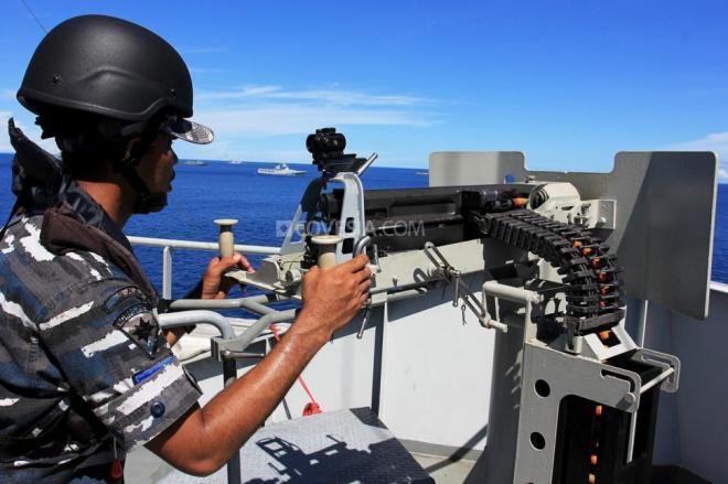 TNI AL Berhasil Tangkap Enam Perompak di Perairan Selat Malaka