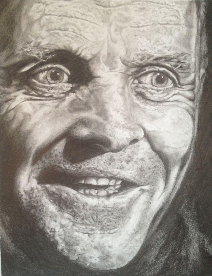 Hannibal Lecter portrait prints $20