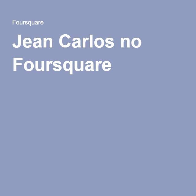 Jean Carlos no Foursquare