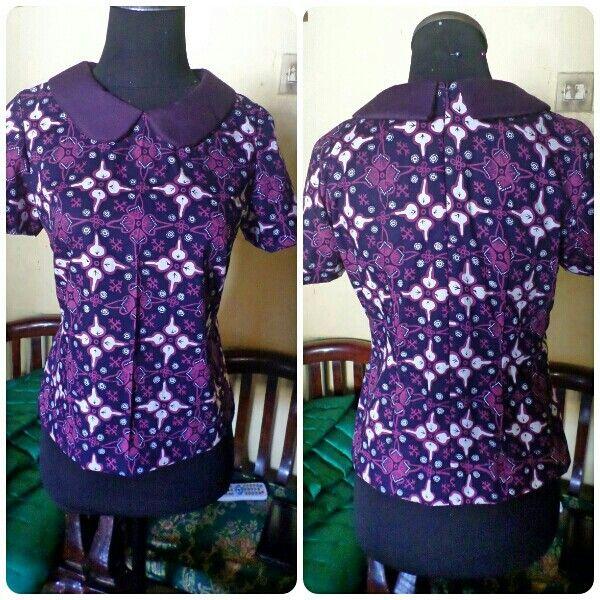 Wariza MODES. Blus batik.. made by order