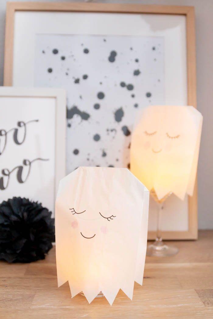 5 Ideen Für Deine Halloween Party Geisterbasteln Pompons