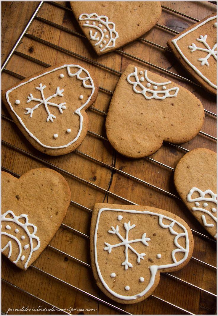 Gingerbread cookies - Biscotti pan di zenzero