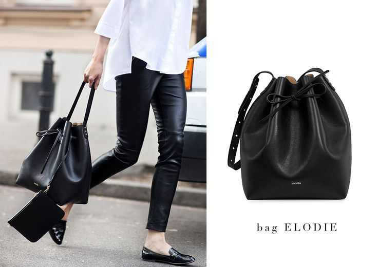 2015 IT BAG - introducing ELODIE! #LaMania #Style #BucketBag
