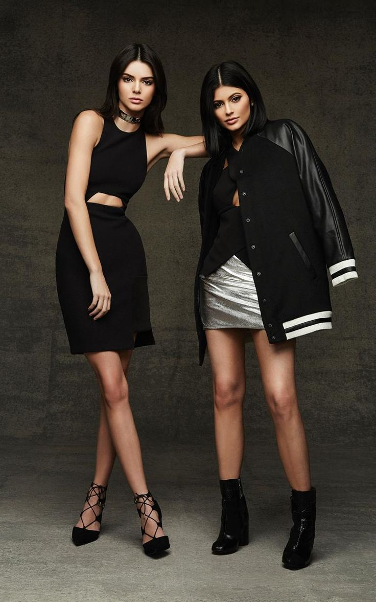 See All The Looks From Kendall and Kylie Jenner's Topshop Holiday Collection   @StyleCaster