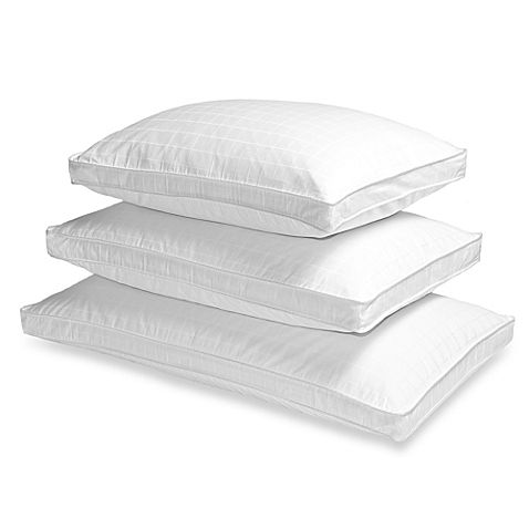 buy the seasons collection grand horizon white down side sleeper king pillow from at bed bath u0026 beyond filled with plush white down this pillow is a