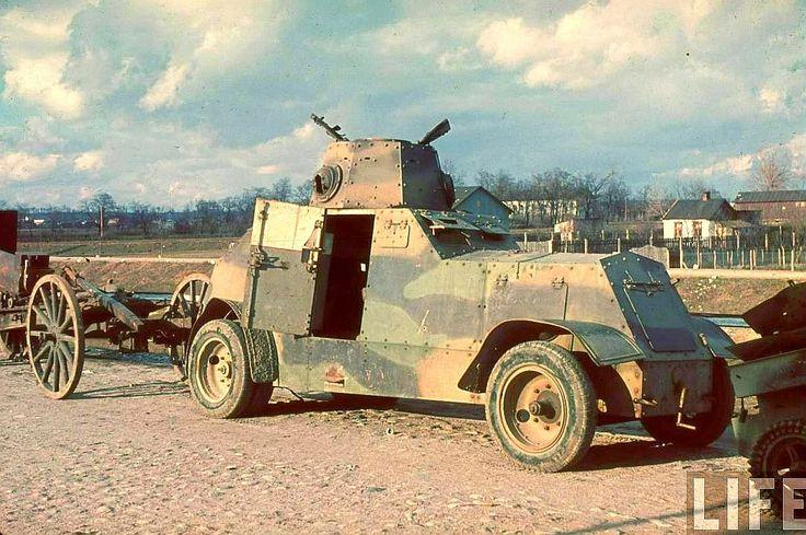 Polish Wz34, 1939