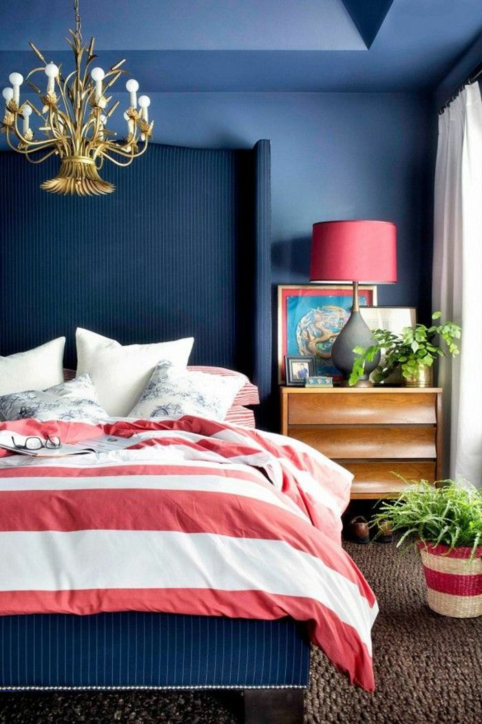 Cuarto Rojo Con Azul