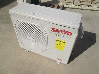 NEW SANYO 24,200 BTU Ductless Air Conditioner Inverter Outdoor Unit, Damaged