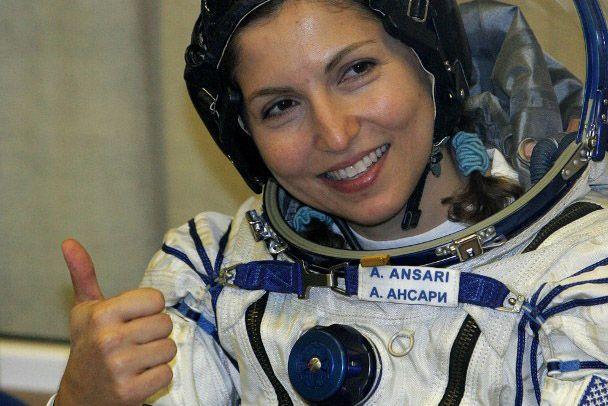 Celebrating the first Muslimah in space, Anousheh Ansari