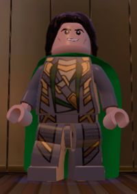 Loki LAYFEYSON | Earth 13122 | Not Helmet | Lego Marvel SUPER HEROES