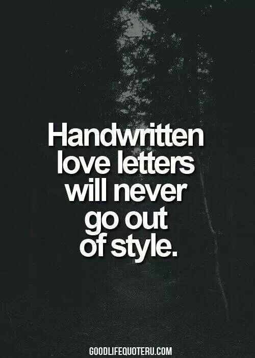 I still love old fashion romance. I'm an old soul with old habits :-)