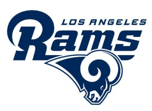 Los Angeles Rams logo (2017 - Present) https://www.fanprint.com/licenses/los-angeles-rams?ref=5750