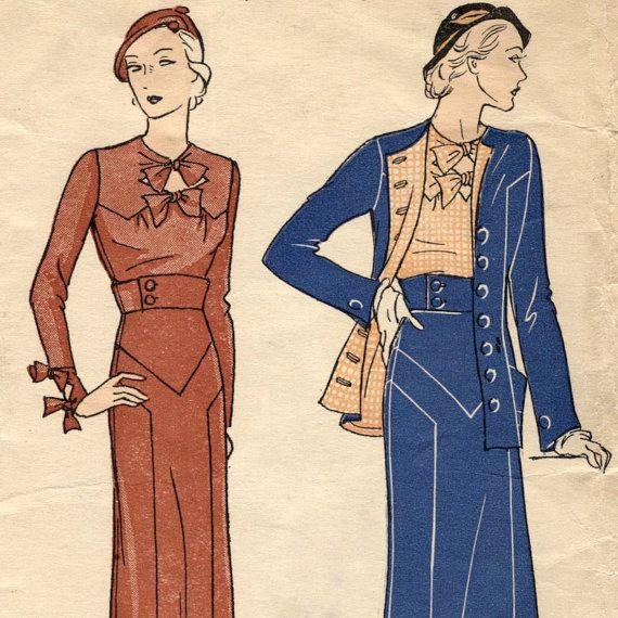 Augustabernard jacket, skirt & blouse pattern -- Pictorial Review 6062 -- PLUS SIZE