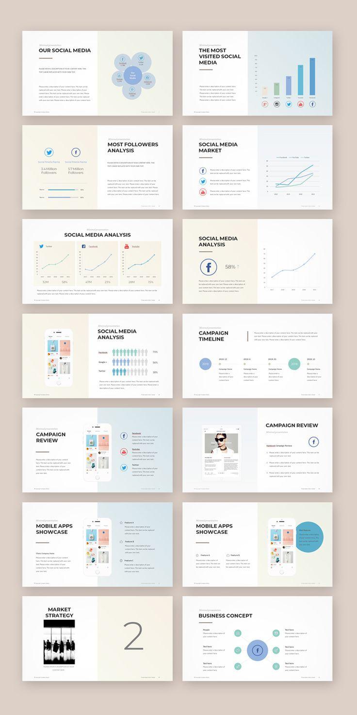 Social Media Marketing Template Social Media Marketing Template Social In 2020 Marketing Strategy Template Social Media Strategy Template Marketing Presentation