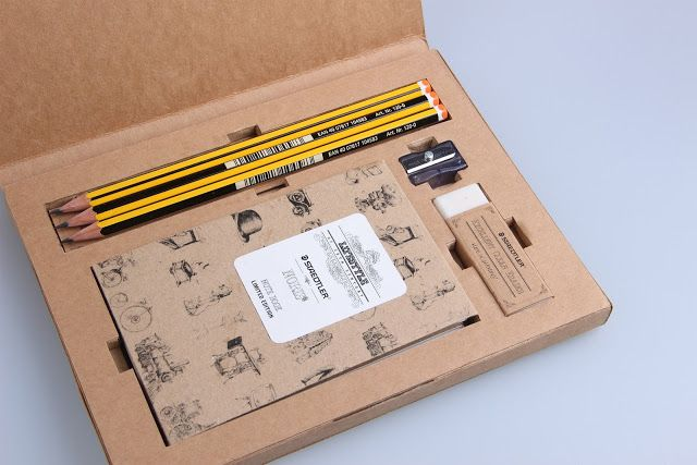 Staedtler Limited Edition Packaging (Student Project) on Packaging of the World - Creative Package Design Gallery  http://redtomato.com.au/2017/05/22/welcome-kit-for-new-employees/