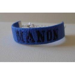 Bracelet prénom tissé écriture 2