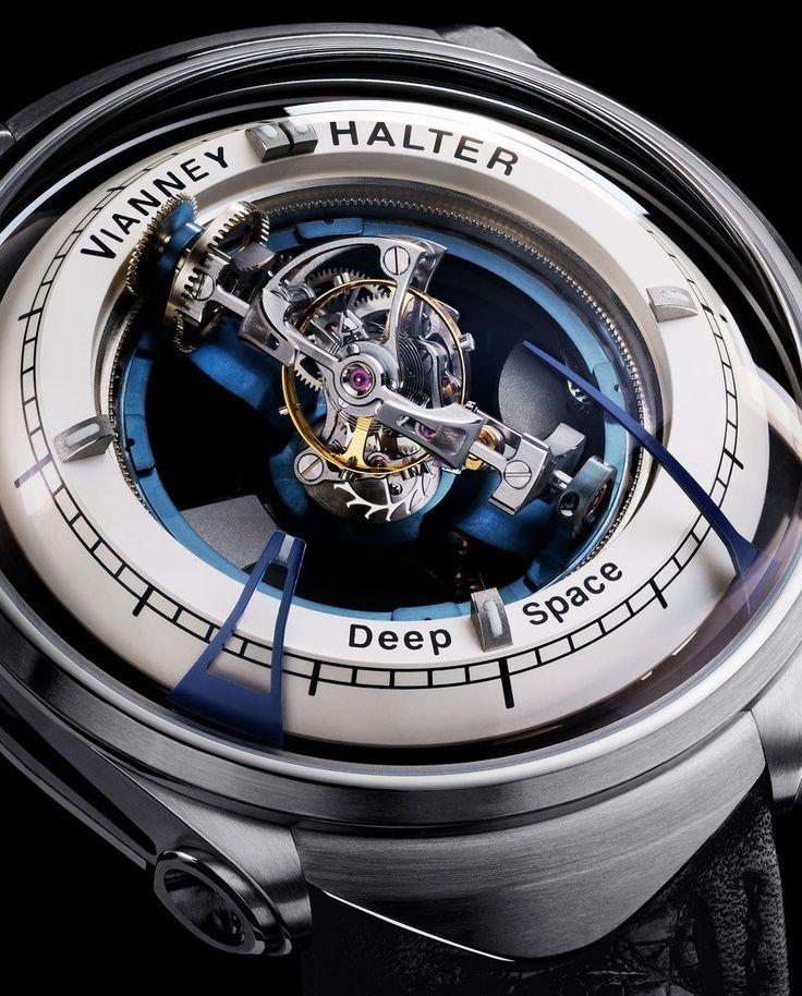 Vianney Halter Deep Space Tourbillon watch men