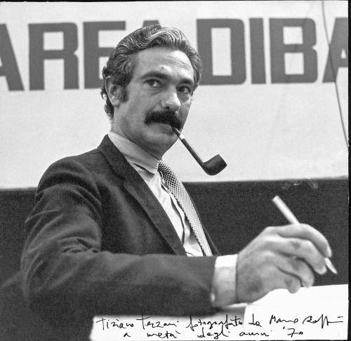 Italian journalist and writerTiziano Terzani.