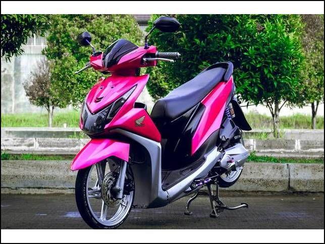 11 Modifikasi Motor Beat Standar Gaya Terbaru Motor Honda