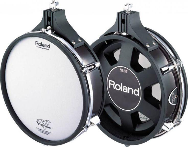 Roland PD125BK Electronic Drum Pad Black