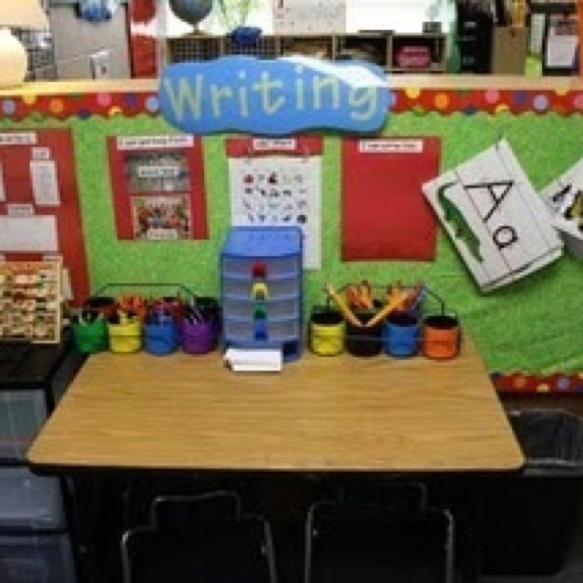 the kimbrell family my classroom love the writing center and other cute setup ideas for the kindergarten room