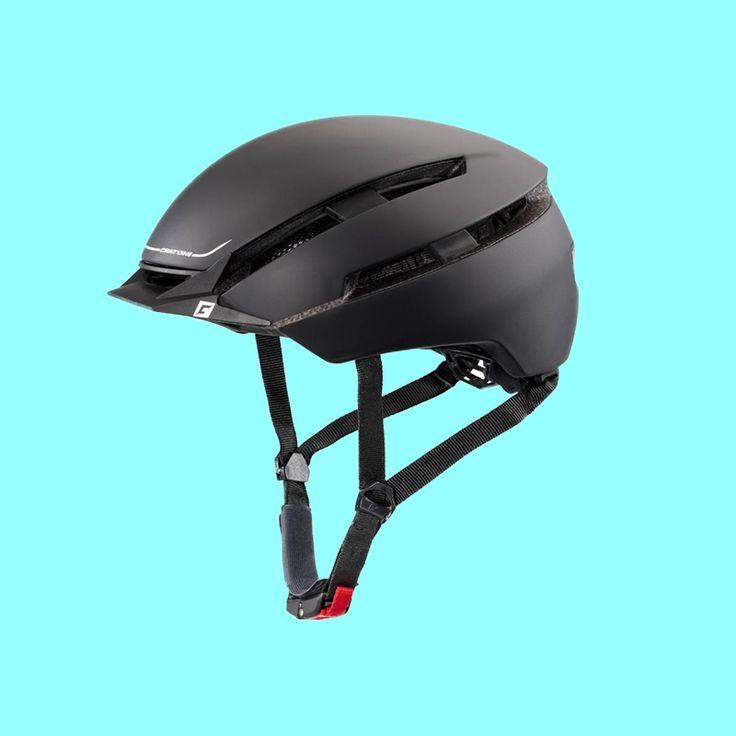 Auf die Räder, fertig, los! Dieser Fahrradhelm Cratoni ist ein ausgezeichneter Design-Trendsetter im urbanen Bike-Bereich. Neun Ventilationsöffnungen sorgen für ein gutes Kopfklima und das Light Fit System garantiert sicheren Halt und komfortables Anpassen.