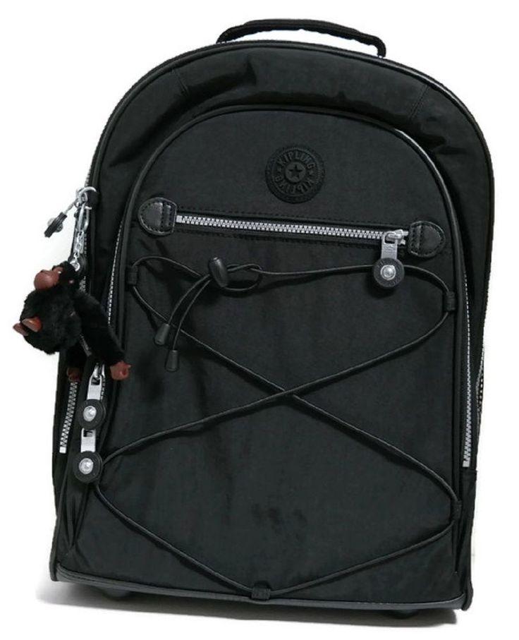 Kipling Sausalito  Wheeled Backpack Bag Pack Women School Travel Sport Gift NEW! #Kipling