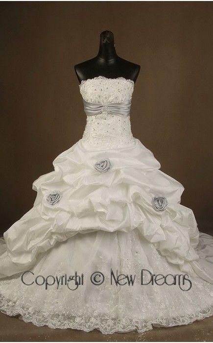 abito da sposa V5170-taffeta wedding dress ball Gown style V5170