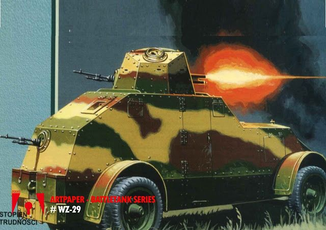 Workshop Artpaper: Tank Panzer WZ - 29