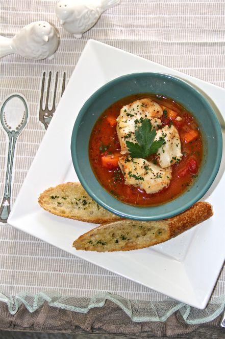 Food Photography: Chilean Sea Bass Stew (Soup, Porridge, etc.)