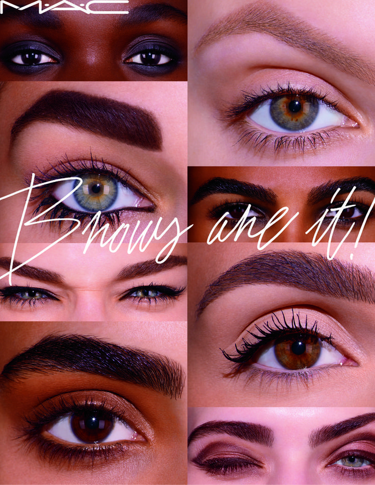Eyebrow Trends 2016 | MAC Cosmetics Brows Are It Collection | POPSUGAR Beauty