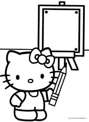 Use My Sisters Hello Kitty Coloring Books