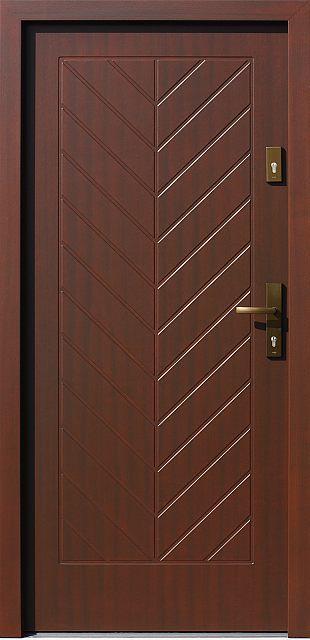 Drzwi zewnętrzne drewniane 543,6 produkcji AFB-Kraków