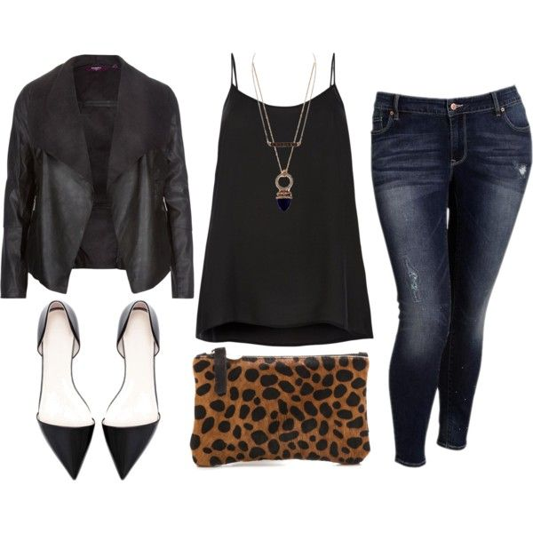 I love the nightlife - Plus Size, created by alexawebb on Polyvore