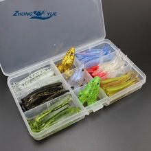High Quality 63pcs soft bait and frog fishing tackle wobbler fishing lure silicone bait soft worm shrimp Set and Tackle Box  $US $12.86 & FREE Shipping //   http://fishinglobby.com/high-quality-63pcs-soft-bait-and-frog-fishing-tackle-wobbler-fishing-lure-silicone-bait-soft-worm-shrimp-set-and-tackle-box/    #fishinf