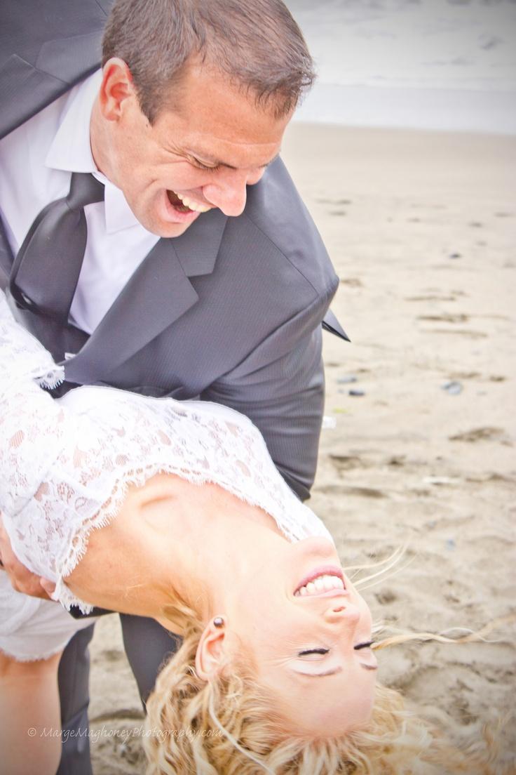 Post Wedding Photos @ Baker Beach San Francisco, CA