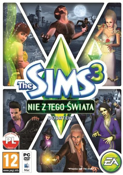 The Sims 3: Nie z tego świata -   Electronic Arts , tylko w empik.com: 55,99 zł. Przeczytaj recenzję The Sims 3: Nie z tego świata. Zamów dostawę do dowolnego salonu i zapłać przy odbiorze!
