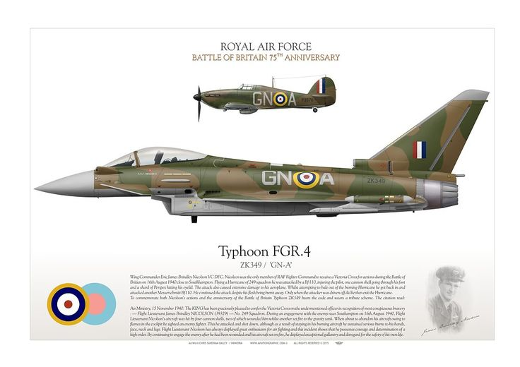 ROYAL AIR FORCE Battle of Britain 75th Anniversary Wing ...