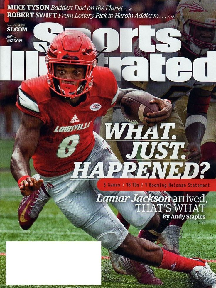 SPORTS ILLUSTRATED MAGAZINE SEPTEMBER 26 2016 LAMAR JACKSON LOUISVILLE HEISMAN