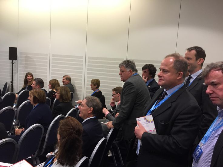Standing room only now at our #questionoftrust voting session at the Conservative Party Conference #solicitors #legal #professional #standards