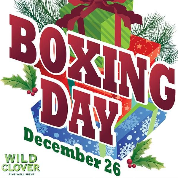 Wishing you and your family a happy Boxing Day!