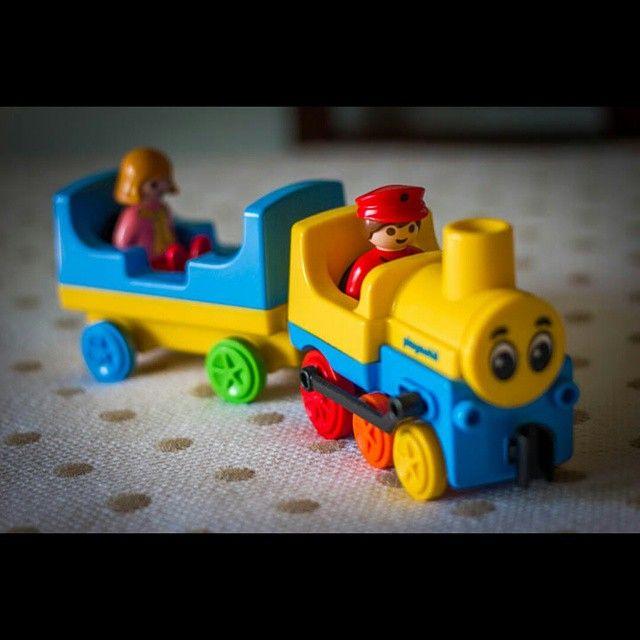 Después de 17 horas despierta, cojo el tren que me llevará a dormir profundamente. Dulces sueños y hasta dentro de 7 horas. #conolorabebe #playmobil #playmobil123 #juguetes #amimirsehadicho