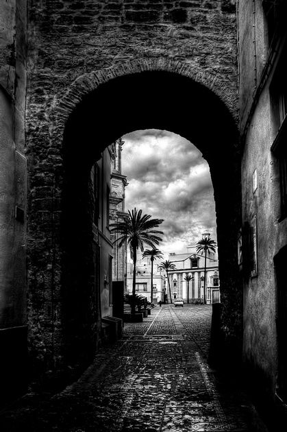 Archway To The Cathedral