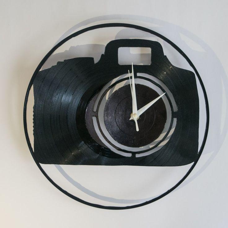 DSLR Vinyl Wall Clock