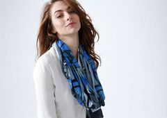 Modal Scarf - Turkey 1 by VIDA VIDA