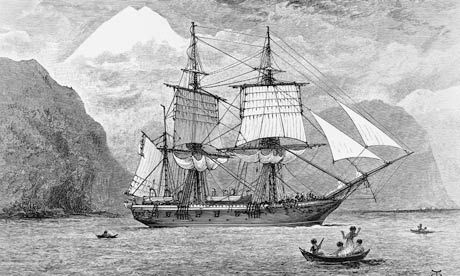 Charles Darwin's evolutionary reading: HMS Beagle's library goes online -- The Beagle's library of more than 400 books has been reconstructed and made freely available in digital form