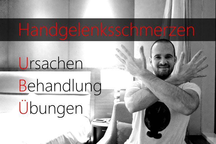 Handgelenksschmerzen - Karpaltunnelsyndrom - Schmerzen im Unterarm - Übu...
