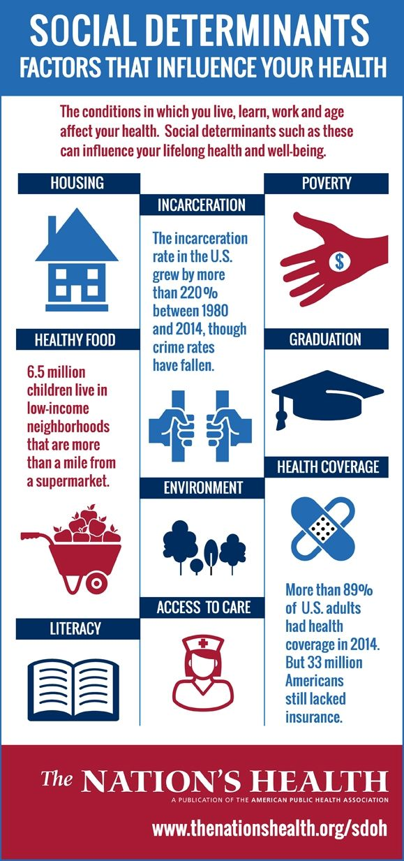 Infographic Social Determinants of Health Infographic