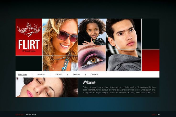 We are very happy to offer you our great collection of beauty templates - http://www.titantemplates.com/en/category/beauty
