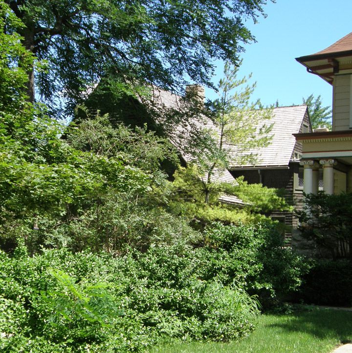 Frank Lloyd Wright's home and studio, Oak Park, Illinois  -  Travel Photos by Galen R Frysinger, Sheboygan, Wisconsin